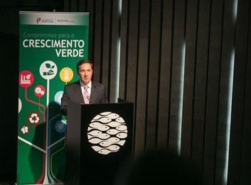 Jorge Moreira da Silva apresenta Compromisso para o Crescimento Verde